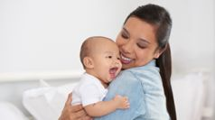 Breastfeeding benefits for baby with mum